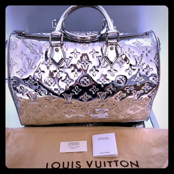 07fadcd3518 Louis Vuitton Bags   Luis Vuitton Limited Edition Mirror Speedy ...